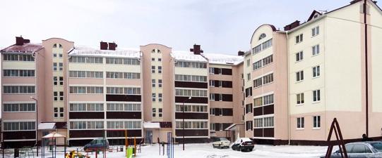 Новабудоўля па вул. Савецкай
