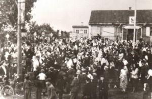 Фестиваль сельской молодежи 1957 год